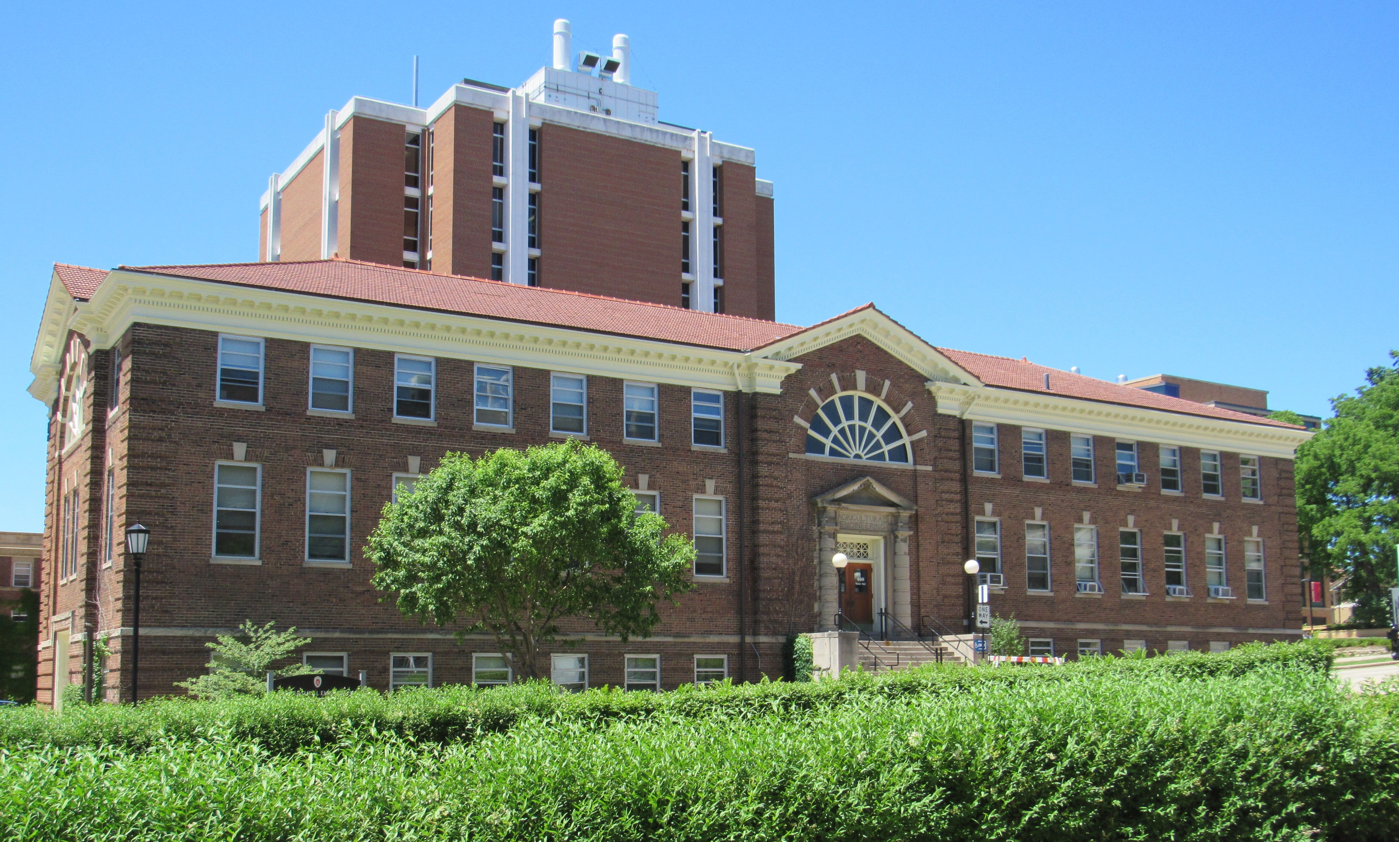 Photo of the Agricultural Engineering Building