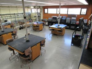 General photo of the milking lab