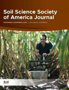 Soil Science Society Journal cover